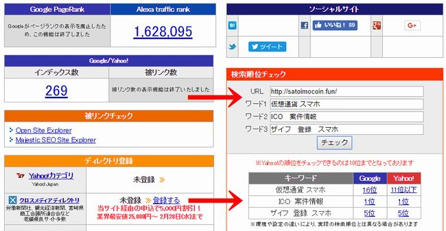 仮想通貨ブログ・仮想通貨アフィリエイトの検索上位表示対策