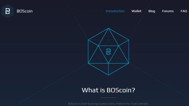 仮想通貨BosCoin(ボスコイン)が上場!BOSの特徴と将来性は?