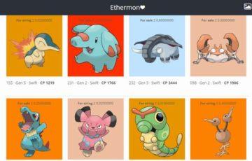 Ethermon(イーサモン)はDApps(分散型アプリケーション)仮想通貨